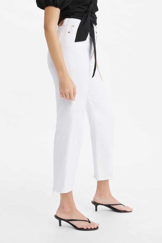 Ribcage Straight Ankle Jean - Cloud