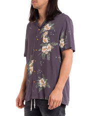Da Hui Short Sleeve Shirt - Charcoal