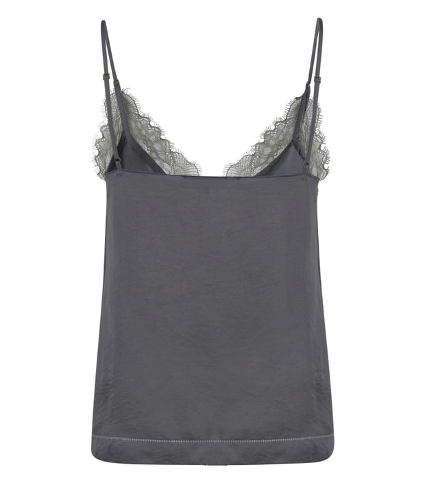 Love Stories Camelia Top - Grey