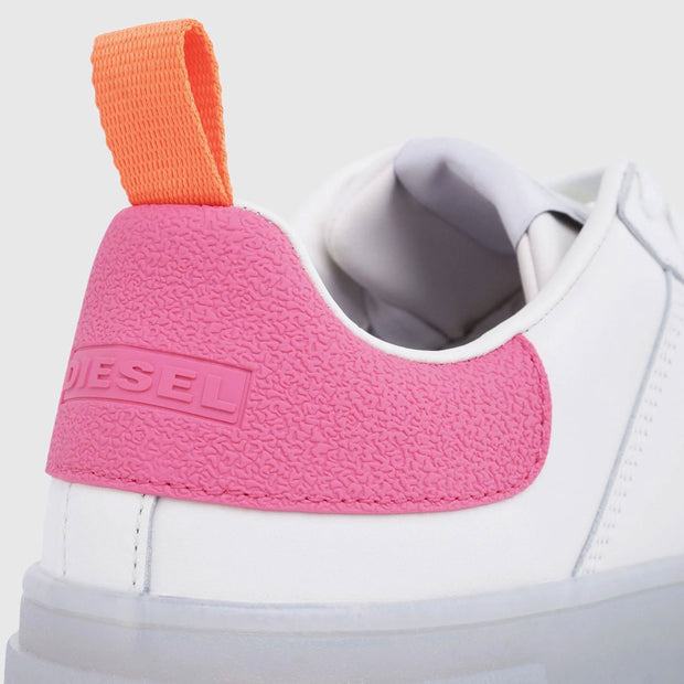 Womens S-Clever Low - White/Pink 7102