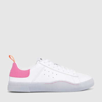 Womens Clever S-Clever Low - White/Pink 7102
