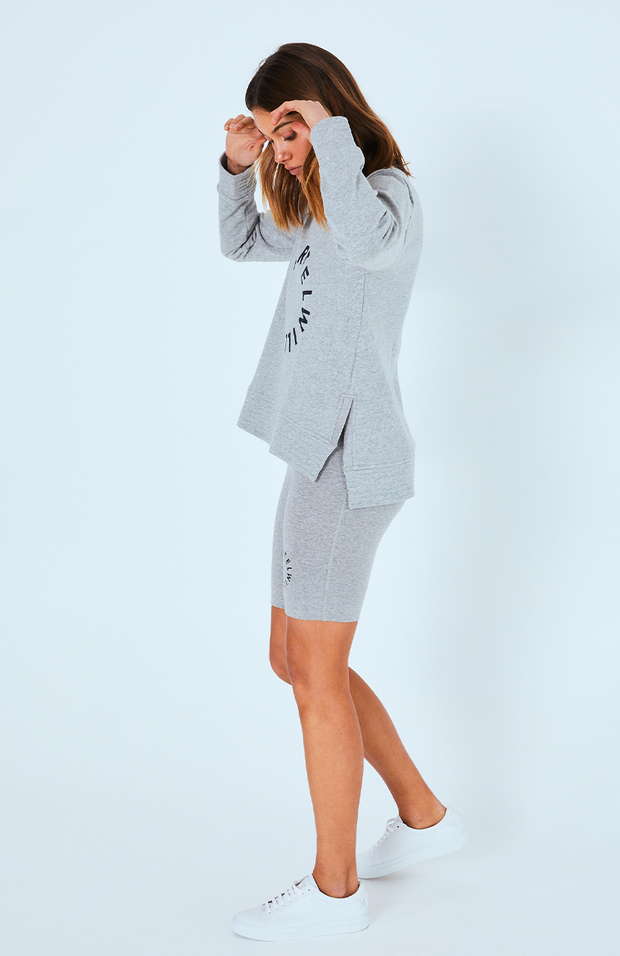 Chester Sweater - Grey Marle