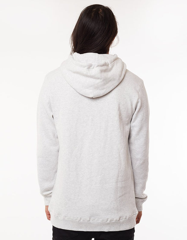 Mens Broadcast Hoody - Grey Marle