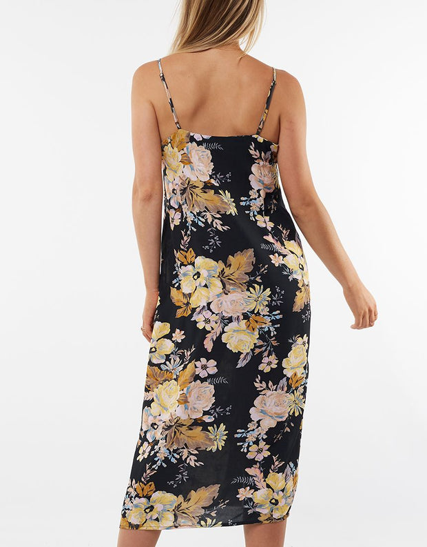 Jorge Sophia Floral Slip Dress