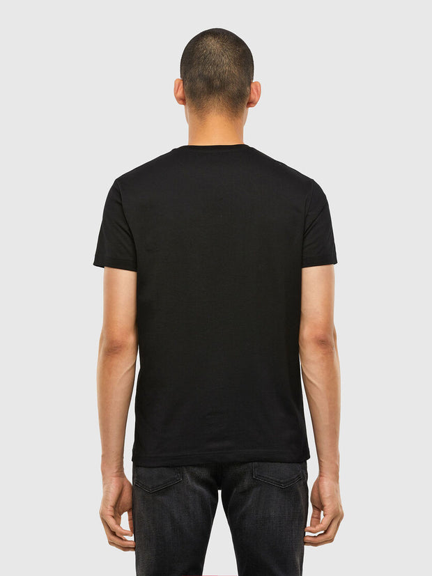 Mens T-Diegos-N33 T-Shirt - Black