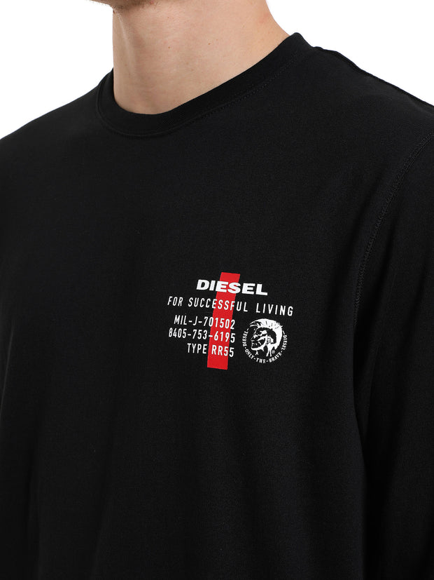 Mens Diesel UMLT-Diegos Long Sleeve Top | Shop Diesel at IKON NZ