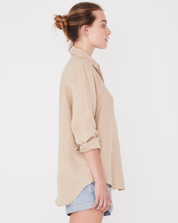 Womens Xander Long Sleeve Shirt - Dover