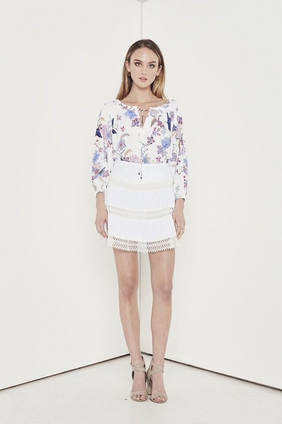 Shilla Aspire Flora Blouse | Floral | Shop Shilla at IKON Arrowtown NZ