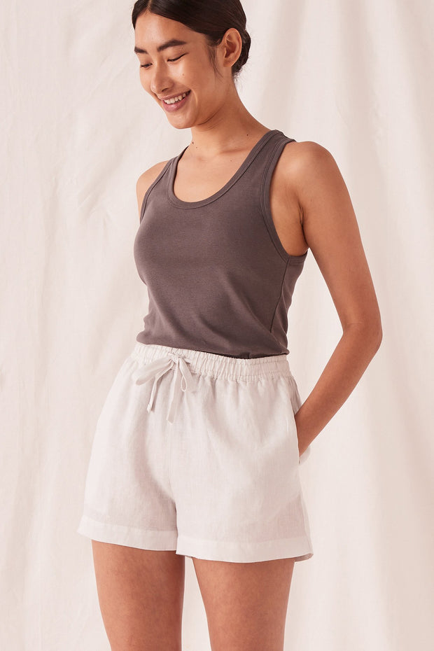 Womens Anika Linen Short | Shop Assembly Label at IKON