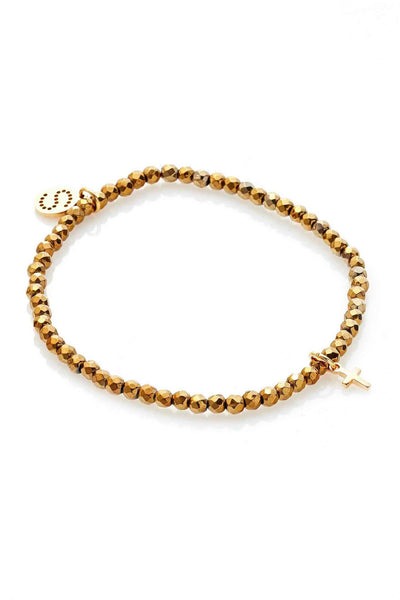 Disco Bracelet - Gold | Shop Silk and Steel Jewellery at IKON