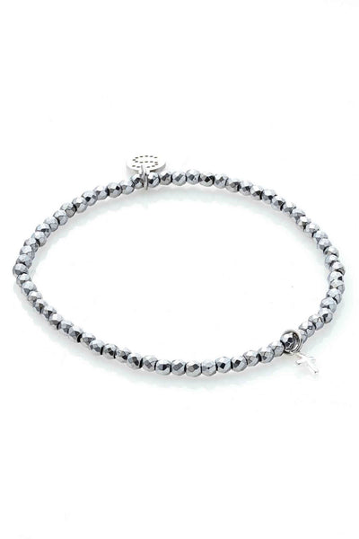 Disco Bracelet - Silver | Shop Silk and Steel Jewellery at IKON