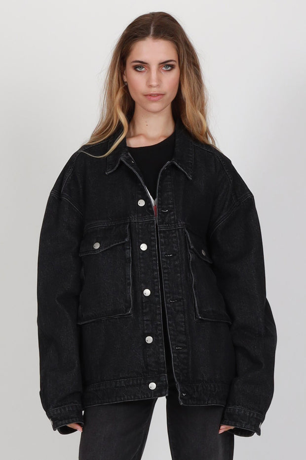 Federation Blown Out Denim Jacket | Shop at IKON Arrowtown NZ