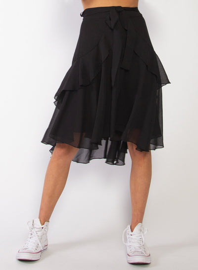 Butterflies Skirt - Black | Buy Federation online at IKON