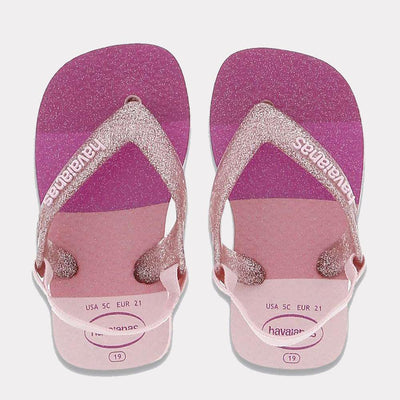 Baby Palette Glow - Candy Pink | Shop Kids Havaianas at IKON NZ