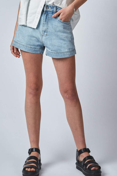 Bell High Shorts - Sun Bleached | Shop Dricoper at IKON NZ