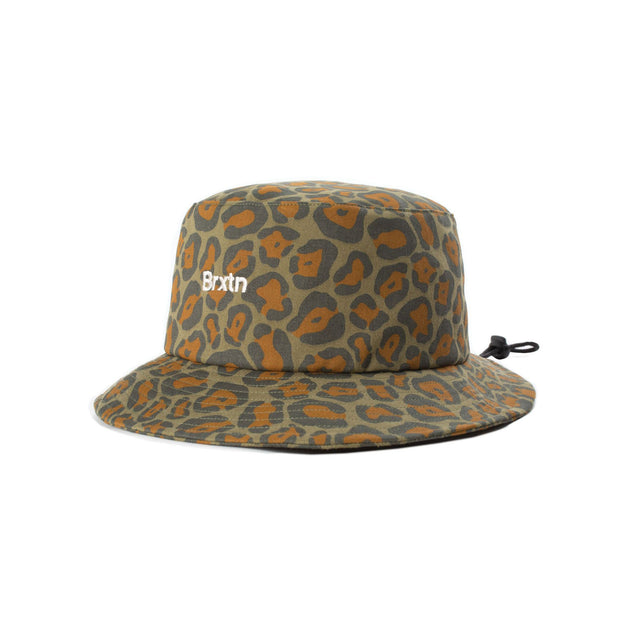 Brixton Gate Bucket Hat Leopard Camo | Shop Brixton at IKON NZ