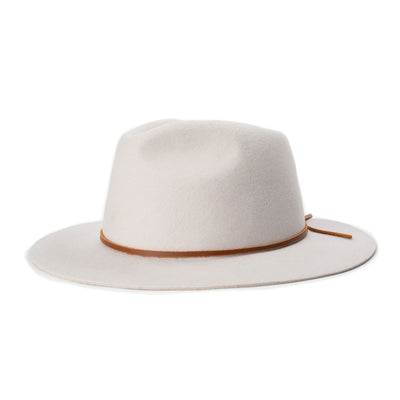 Brixton Wesley Fedora Silver | Shop Brixton at IKON in Arrowtown NZ