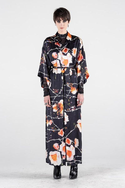 Kimono Shirt Dress Floral Print | Shop Stolen Girlfriends Club SGC