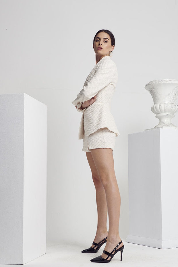 Shilla Calibre Luxe Jacket Ivory | Shop at IKON Arrowtown NZ