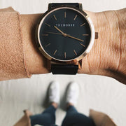 The Original Watch - Rose Gold/Black/Black