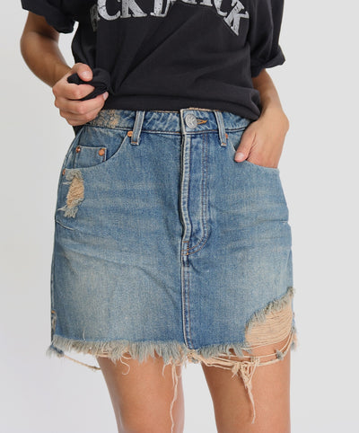 Vanguard Mid Rise Skirt Colorado | Shop OneTeaspoon at IKON NZ