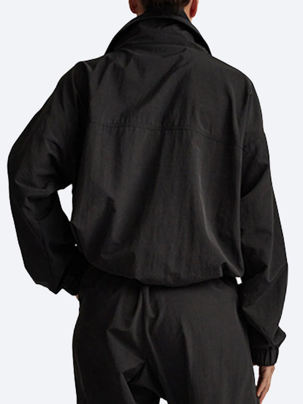 C&M Jukes Double Collar Pullover - Black