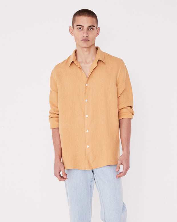 Casual Long Sleeve Shirt Amber | Shop Assembly Label at IKON