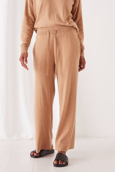 Assembly Label Cotton Cashmere Wide Leg Pant | Shop at IKON, Arrowtown