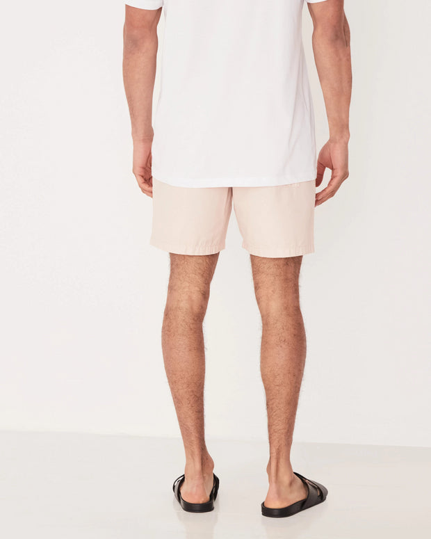 Mens Cotton Walkshort - Blush