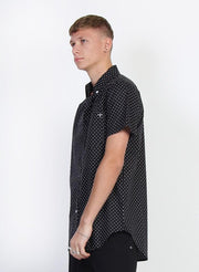 Mens Division Shirt - Black shop online or in store at IKON