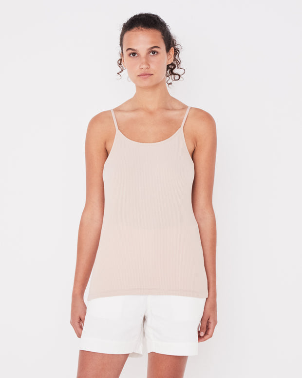 Daily Rib Singlet Dusk | Shop Assembly Label at IKON NZ