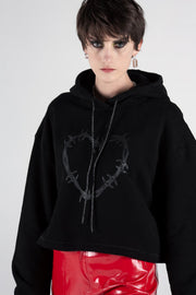 Heart Wire Hood Black | Shop Stolen Girlfriends Club SGC