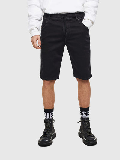 Mens D-Krooshort-Ne Sweat Jeans - 0687Z | Shop Diesel at IKON NZ
