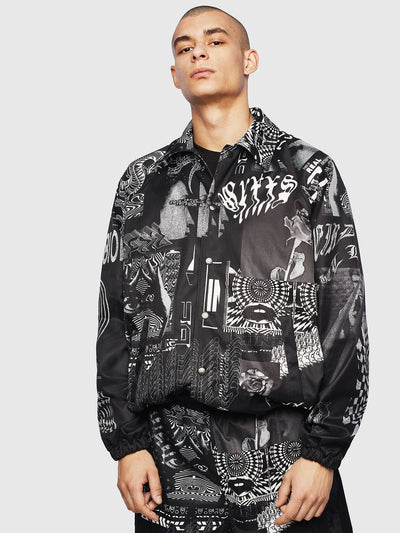 Diesel J-Akiprint Jacket | Shop Diesel at IKON NZ