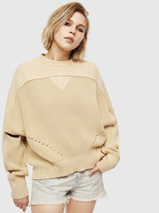 Womens M-Sunny Pullover - Beige F767 | Shop Diesel online at IKON