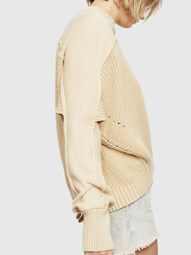 Womens M-Sunny Pullover - Beige F767
