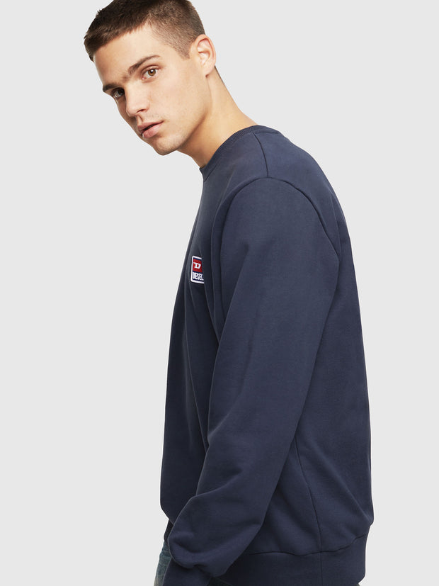 Mens S-GIR-DIV-P Sweat - Navy