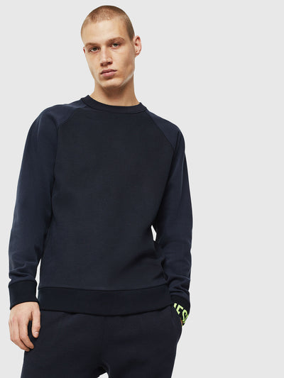 Mens S-Kobler Sweatshirt - Dark Blue 81E | Shop Diesel at IKON NZ