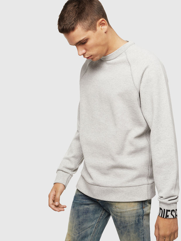 Mens S-Kobler Sweatshirt - Grey 912 | Shop Diesel at IKON NZ