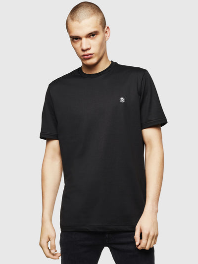 Mens T-Justy-LS Tee - Black | Shop Diesel Clothing at IKON NZ