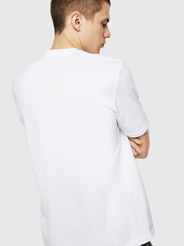 Mens T-Justy-LS Tee - White