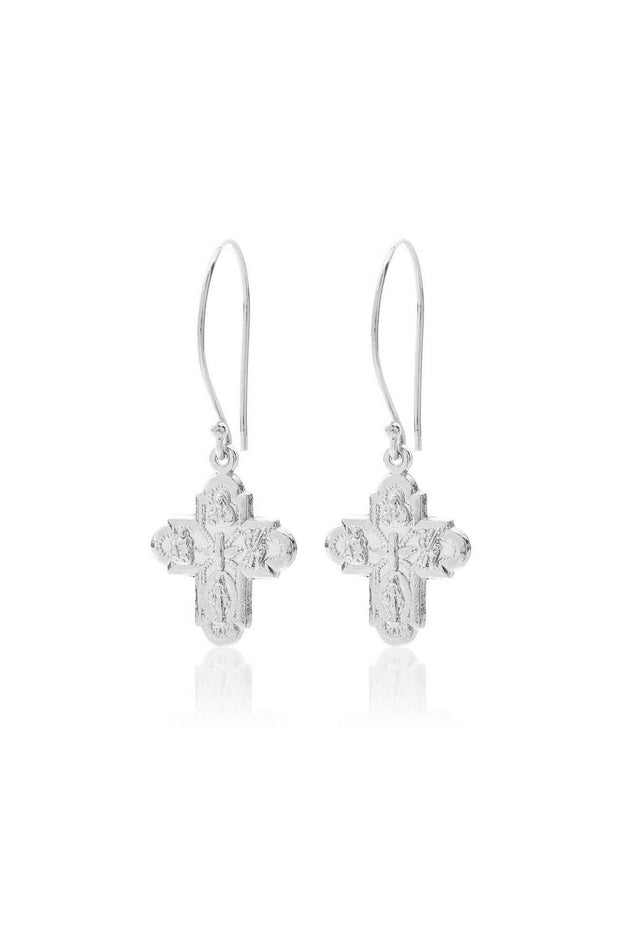 Super Cross Earring | Shop Silk and Steel Jewellery at IKON