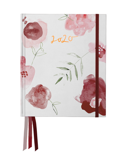 Weekly Planner 2020 - Burgundy Rose | Shop Emma Kate Co. at IKON in Arrowtown, NZ