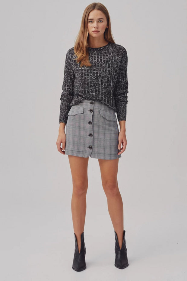 Electricity Knit - Black Marle