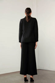 Shilla Enchant Linen Jacket - Black