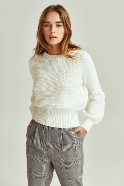 Eva Knit Ivory | Shop The Fifth Label clothing at IKON Arrowtown NZ