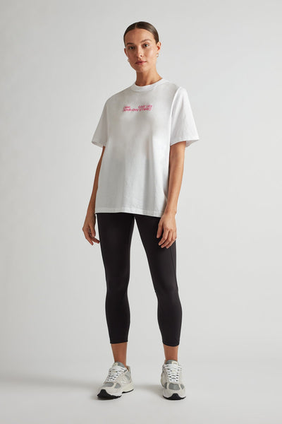 C&M Emil Logo Tee - White | Shop C&M activewear at IKON. NZ