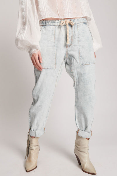 Shabbies Drawstring Jeans | Shop OneTeaspoon at IKON NZ
