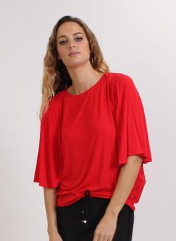 Federation Flute Top Red