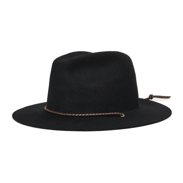 Brixton Freeport Fedora - Black